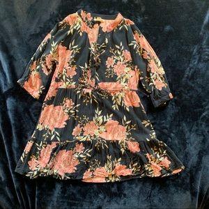 Billabong Floral Dress-Size M
